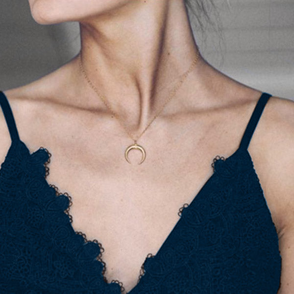 Selena's Crescent Necklace