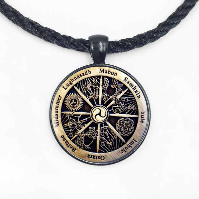 Wiccan Amulet (Necklace OR Bracelet)