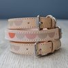 MOON LEATHER DOG COLLAR - BENJI + MOON