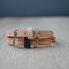 LEATHER DOG COLLAR - BENJI + MOON