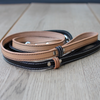 LEATHER DOG LEAD - BENJI + MOON