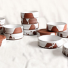 KILNHOUSE DESIGN STUDIO SPILLED MILK CERAMIC PET BOWL