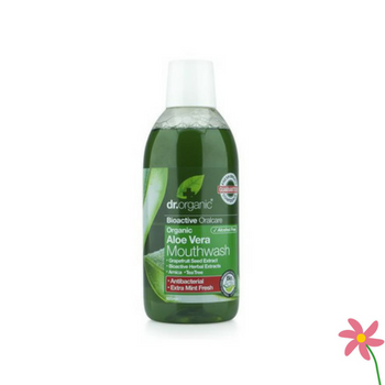 Dr Organic Aloe Vera Mouth Wash 500ml