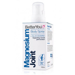 Magnesium and glucosamine body spray