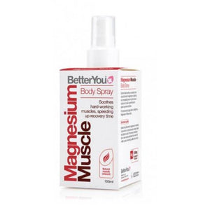 Better You Magnesium Muscle Spray Arnica Lemon