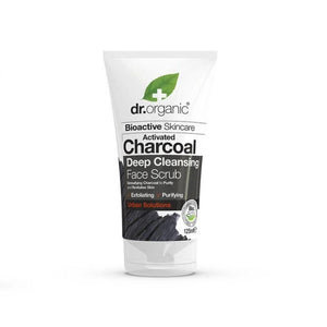 Dr. Organic Activated Charcoal Face Scrub Oily Skin