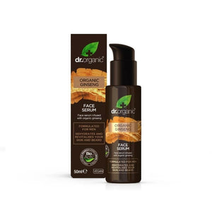 Dr Organic Ginseng mens Face Serum