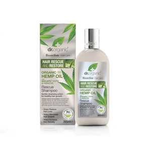 Dr. Organic Hemp Oil Hair Growth Shampoo