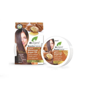 Dr. Organic Moroccan Argan Oil Hair Restorative Treatment Conditioner