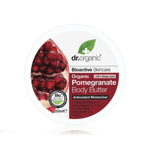 Dr. Organic Pomegranate Body Butter Healthy Aging