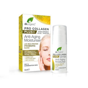 Dr. Organic Pro-Collagen Probiotic AntiAging Moisturizer