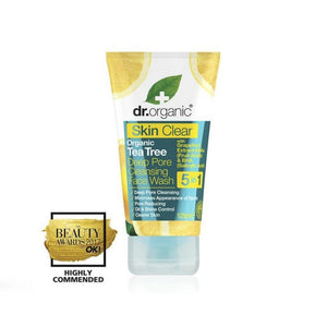Dr. Organic Skin Clear Face Wash Tea Tree Oil