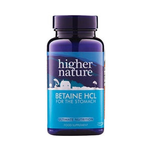 Higher Nature Betaine HCL 300mg 90s