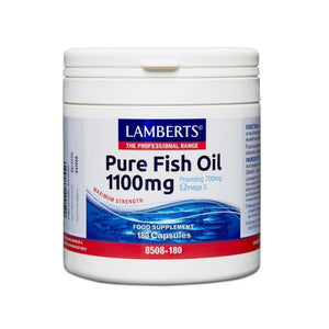 Lamberts Fish Oil 1100mg Omega 3 Heart Digestion Immunity