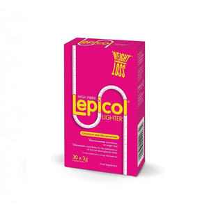 Lepicol Lighter with Chromium and Glucomannan 30 x 3g