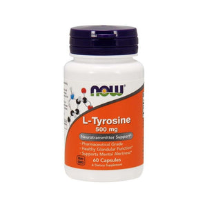 NOW foods L-Tyrosine Mental Alertness Neurotransmitter