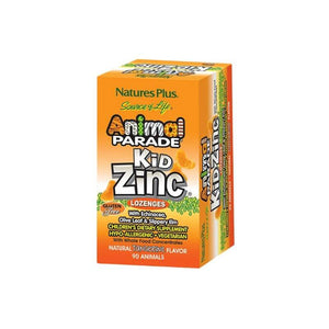 Animal Parade KidZinc Tangerine Flavour Lozenges