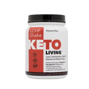 Nature's Plus KetoLiving™ LCHF Chocolate Shake