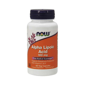 NOW Foods Alpha Lipoic Acid Detox Weight Diabetes Management