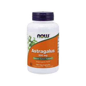 NOW Astragalus 500 mg Veg Capsules 100s
