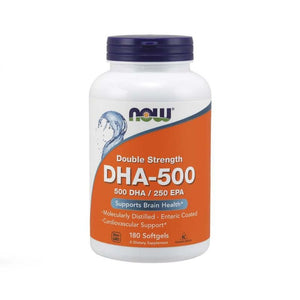 NOW Foods 500 DHA 250 EPA Enteric Coated