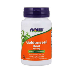 NOW goldenseal root 500mg 50s