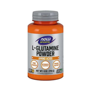 NOW Foods L-Glutamine Powder Immunity Digestive Health