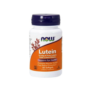 NOW Foods Lutein Esters 10 mg 60s