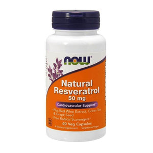 NOW Natural Resveratrol 60s