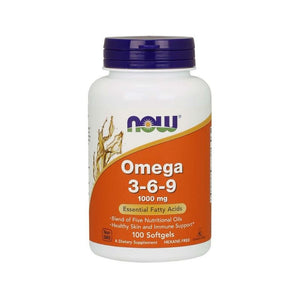 NOW Foods Omega 369 1000 mg Heart Skin Immunity