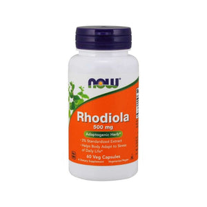 NOW Rhodiola Rosea Stress Fatigue Energy