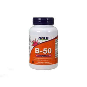 NOW Foods Vitamin B-50 Energy & Nervous System
