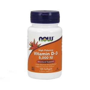 NOW Foods Vitamin D3 - 5000 iu Immune System