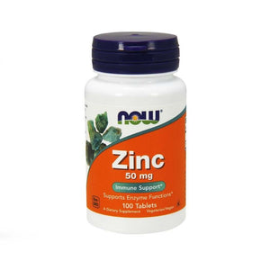 NOW foods Zinc Gluconate 50mg Immune Support