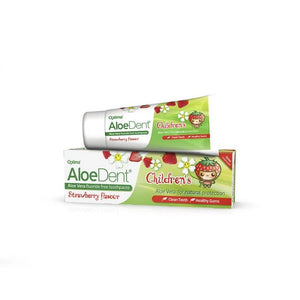 Optima Aloedent Children's Fluoride Free Toothpaste