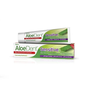 Optima Aloedent Sensitive Toothpaste Aloe Vera Echinacea