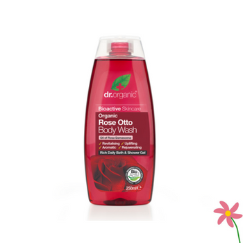 Dr Organic Rose Body Wash 250ml