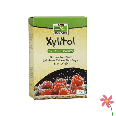 NOW Xylitol Packets 75s