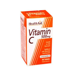 Healthaid Vitamin C chewable 500g Buffered
