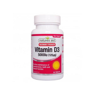 Natures Aid Vitamin D 3 5000 iu