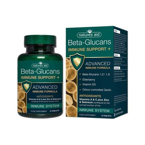 Natures Aid Beta Glucans Immune Support 30s