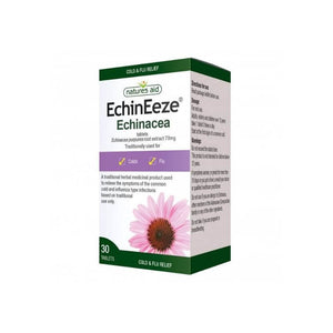 Natures Aid Echineeze Echinacea tablets 30s