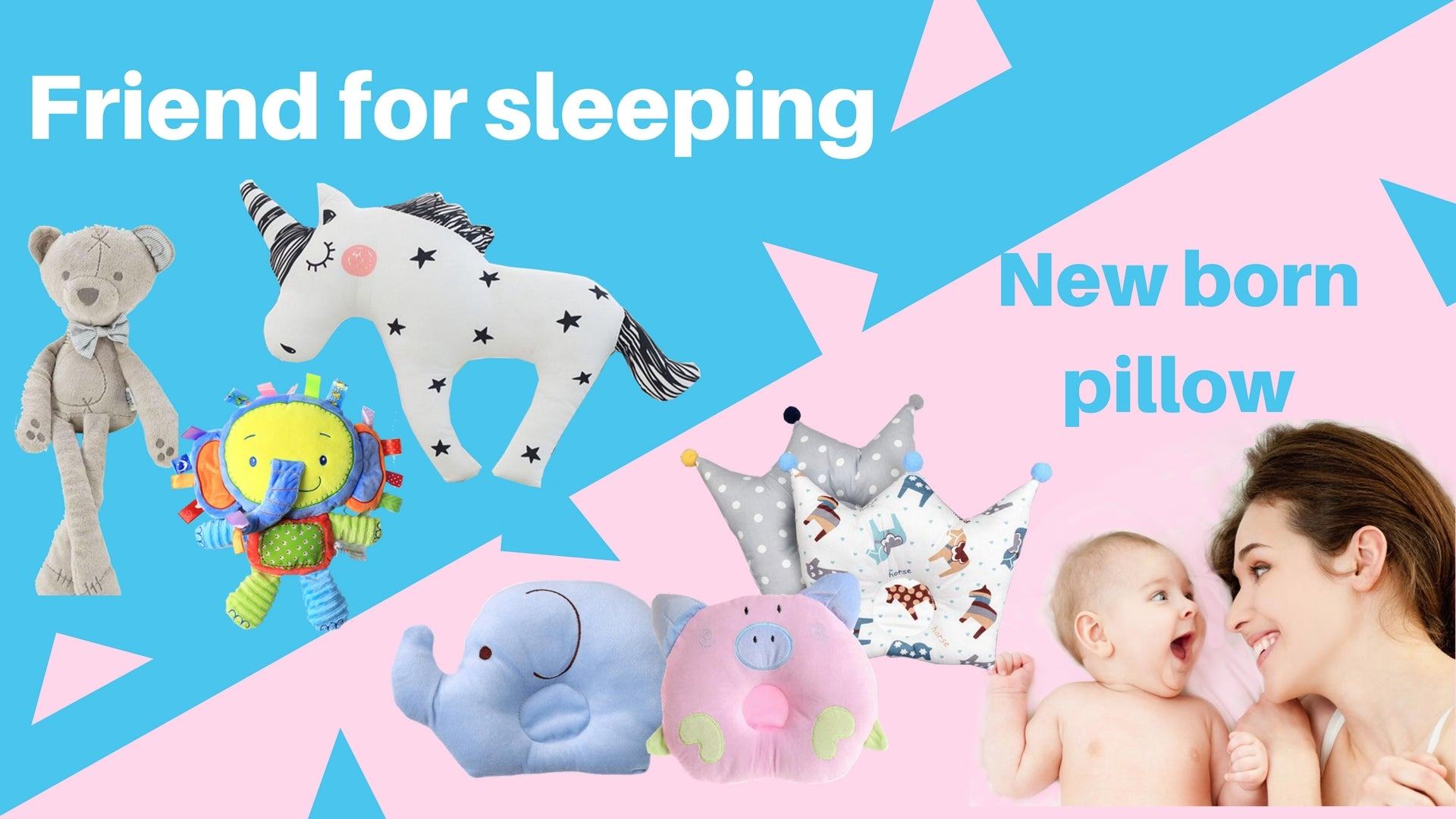 friend for sleeping special orthopadic new born pillow