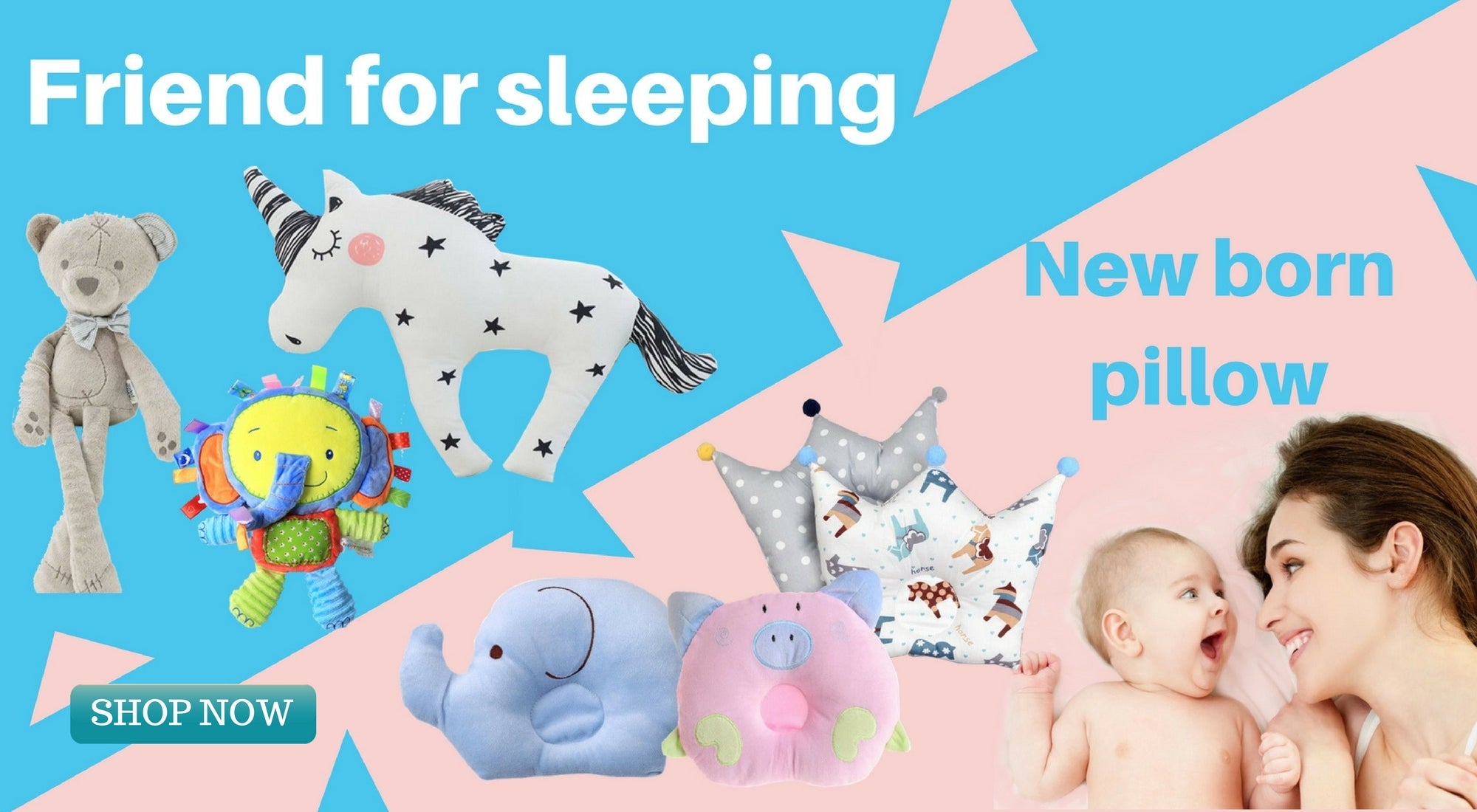 friend for sleeping special orthopadic new born pillow SHOP NOW