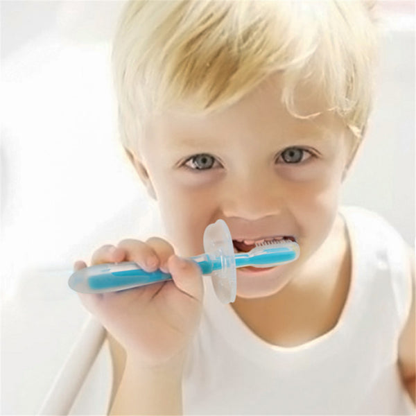 Baby Soft Chew Able Silicone Toothbrush