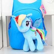 Cute Plush Backpack With Adorable Unicorn For Children's