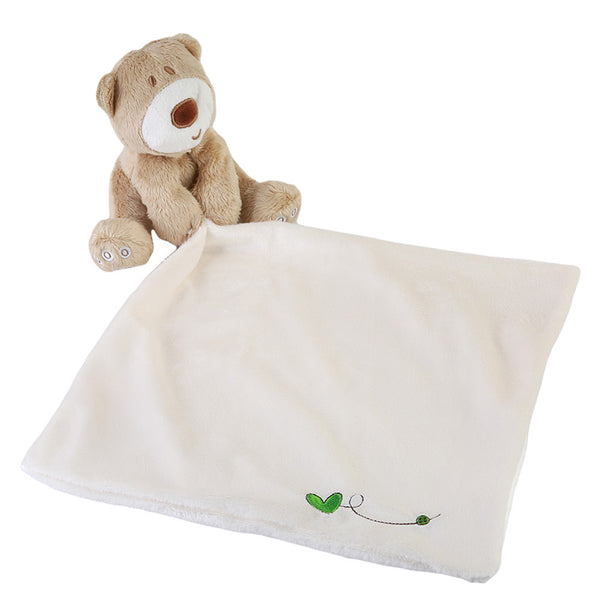 Super Soft Baby Care Towel with a cute teddy bear.