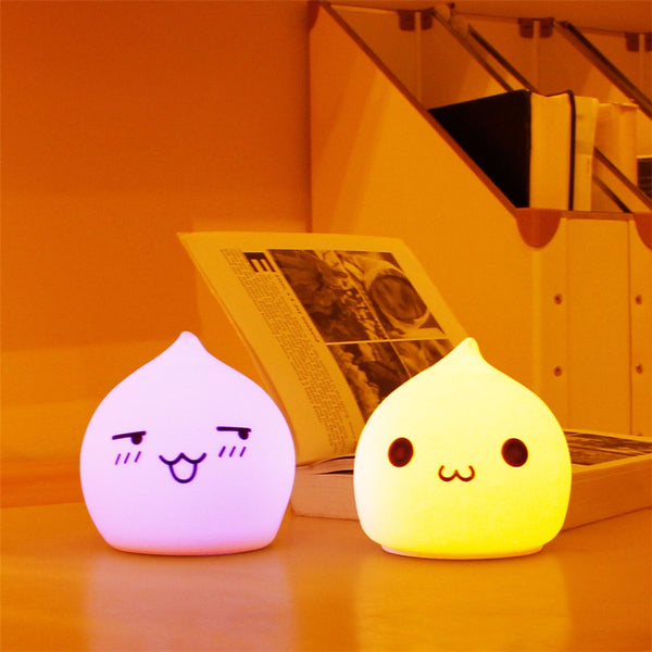 Great night lamp for sleeping! Silicone Soft night lamp will give your child endless joy.
