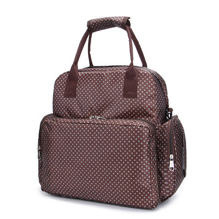 Stylish All in One Multi function diaper Bag with adjustable shoulder strap