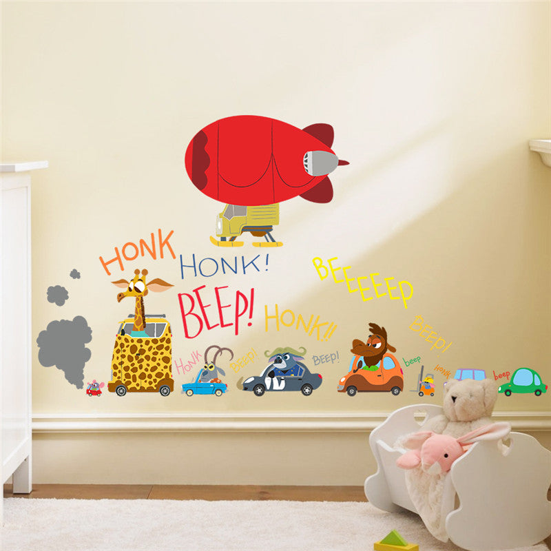 Zootopia movie wall stickers for kids  room